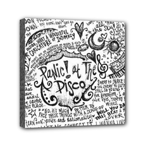 Panic! At The Disco Lyric Quotes Canvas Travel Bag