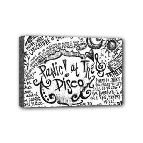 Panic! At The Disco Lyric Quotes Mini Canvas 6  X 4  by Samandel