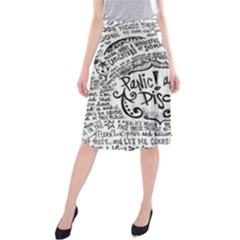 Panic! At The Disco Lyric Quotes Midi Beach Skirt by Samandel