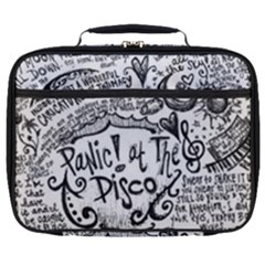 Panic! At The Disco Lyric Quotes Full Print Lunch Bag by Samandel