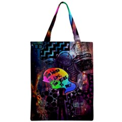 Panic! At The Disco Galaxy Nebula Zipper Classic Tote Bag by Samandel