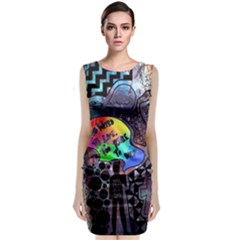 Panic! At The Disco Galaxy Nebula Classic Sleeveless Midi Dress