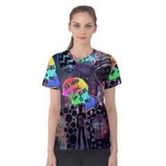 Panic! At The Disco Galaxy Nebula Women s Cotton Tee