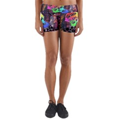 Panic! At The Disco Galaxy Nebula Yoga Shorts