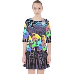 Panic! At The Disco Galaxy Nebula Pocket Dress