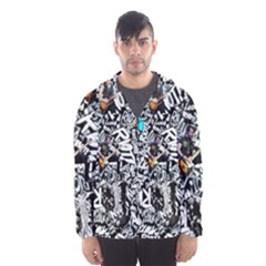 Panic! At The Disco College Hooded Wind Breaker (men)