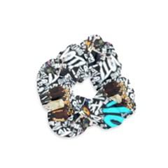 Panic! At The Disco College Velvet Scrunchie by Samandel