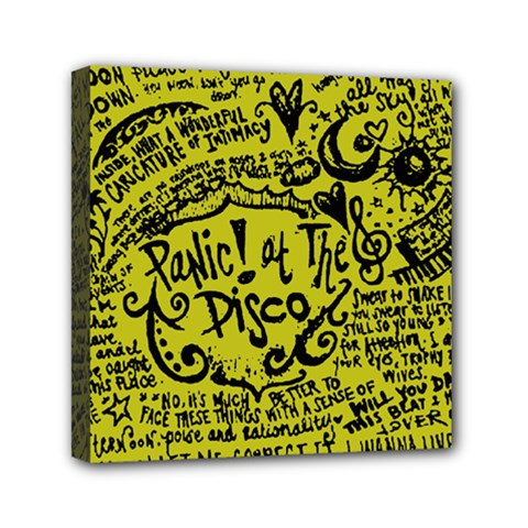 Panic! At The Disco Lyric Quotes Canvas Travel Bag by Samandel