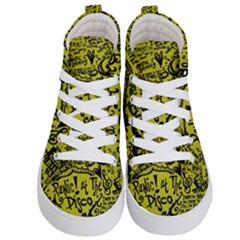 Panic! At The Disco Lyric Quotes Kid s Hi Top Skate Sneakers