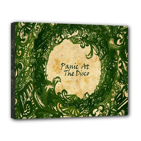 Panic At The Disco Canvas 14  X 11
