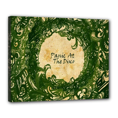 Panic At The Disco Canvas 20  X 16