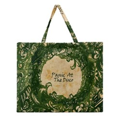 Panic At The Disco Zipper Large Tote Bag by Samandel