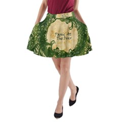 Panic At The Disco A Line Pocket Skirt by Samandel