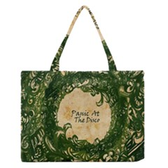 Panic At The Disco Zipper Medium Tote Bag