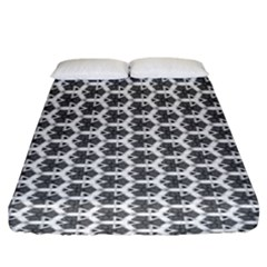 Abstract Shapes Fitted Sheet (king Size) by jumpercat