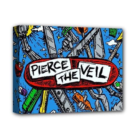 Album Cover Pierce The Veil Misadventures Deluxe Canvas 14  X 11