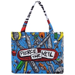 Album Cover Pierce The Veil Misadventures Mini Tote Bag by Samandel
