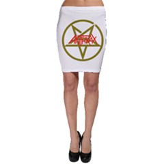 Anthrax Band Logo Bodycon Skirt