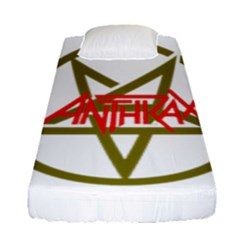 Anthrax Band Logo Fitted Sheet (single Size) by Samandel