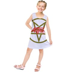 Anthrax Band Logo Kids  Tunic Dress