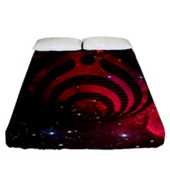 Nectar Galaxy Nebula Fitted Sheet (queen Size) by Samandel