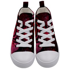 Nectar Galaxy Nebula Kid s Mid Top Canvas Sneakers