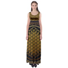 Tree Of Live Pattern Empire Waist Maxi Dress by Samandel