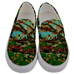 Coral Tree 1 Men s Canvas Slip Ons