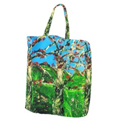 Coral Tree 2 Giant Grocery Zipper Tote