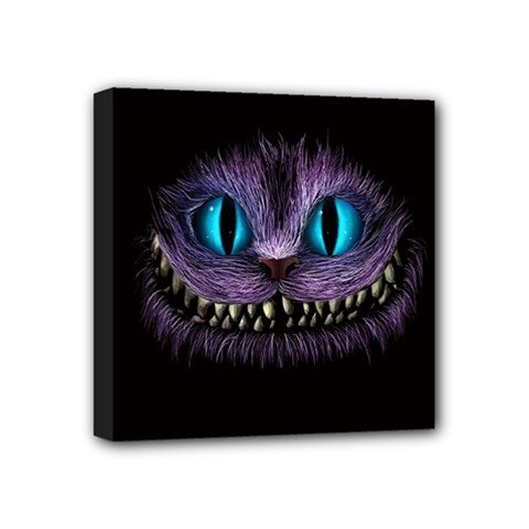 Cheshire Cat Animation Mini Canvas 4  X 4