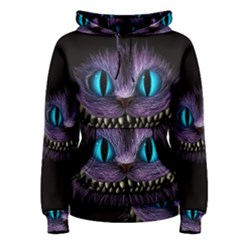 Cheshire Cat Animation Women s Pullover Hoodie