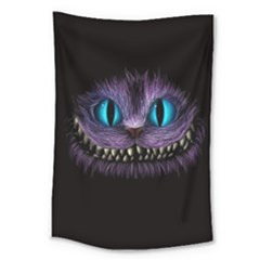 Cheshire Cat Animation Large Tapestry by Samandel