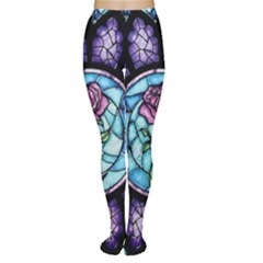 Cathedral Rosette Stained Glass Women s Tights