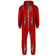Drake Ugly Holiday Christmas Hooded Jumpsuit (men)