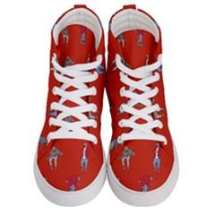 Drake Ugly Holiday Christmas Men s Hi Top Skate Sneakers