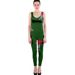 Drake Ugly Holiday Christmas One Piece Catsuit