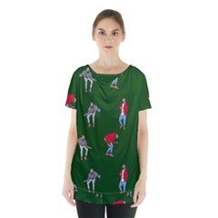 Drake Ugly Holiday Christmas Skirt Hem Sports Top