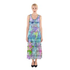 Drake 1 800 Hotline Bling Sleeveless Maxi Dress by Samandel