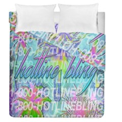 Drake 1 800 Hotline Bling Duvet Cover Double Side (queen Size) by Samandel
