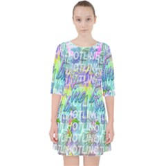 Drake 1 800 Hotline Bling Pocket Dress by Samandel