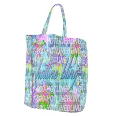 Drake 1 800 Hotline Bling Giant Grocery Zipper Tote by Samandel