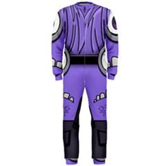 Evil Purple Onepiece Jumpsuit (men)  by Samandel