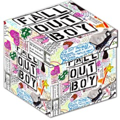 Fall Out Boy Lyric Art Storage Stool 12
