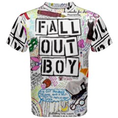 Fall Out Boy Lyric Art Men s Cotton Tee