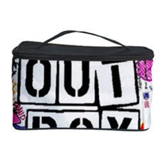 Fall Out Boy Lyric Art Cosmetic Storage Case by Samandel