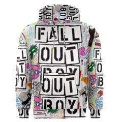 Fall Out Boy Lyric Art Men s Pullover Hoodie