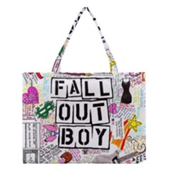Fall Out Boy Lyric Art Medium Tote Bag