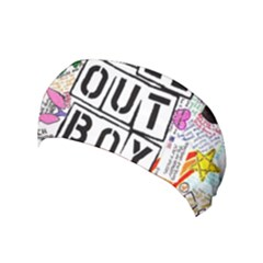 Fall Out Boy Lyric Art Yoga Headband by Samandel