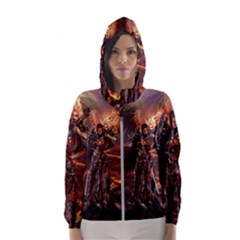 Fantasy Art Fire Heroes Heroes Of Might And Magic Heroes Of Might And Magic Vi Knights Magic Repost Hooded Wind Breaker (women)
