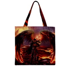 Fantasy Art Fire Heroes Heroes Of Might And Magic Heroes Of Might And Magic Vi Knights Magic Repost Zipper Grocery Tote Bag by Samandel
